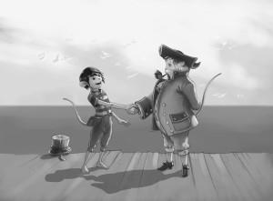 illustration b:w 04